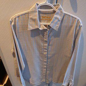 Barbour Light Tattersalls ladies blouse / shirt 12